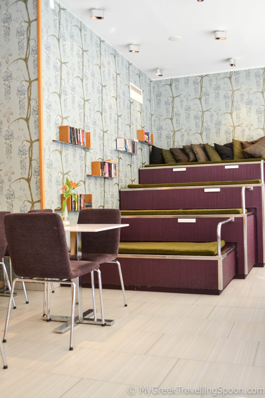 Chokladfabriken -the cosy interior.