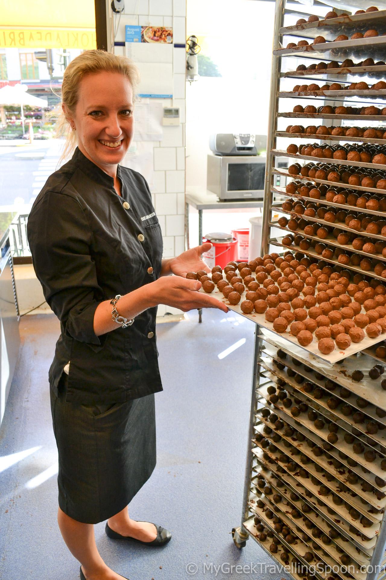 Chokladfabriken is a chocolate heaven.
