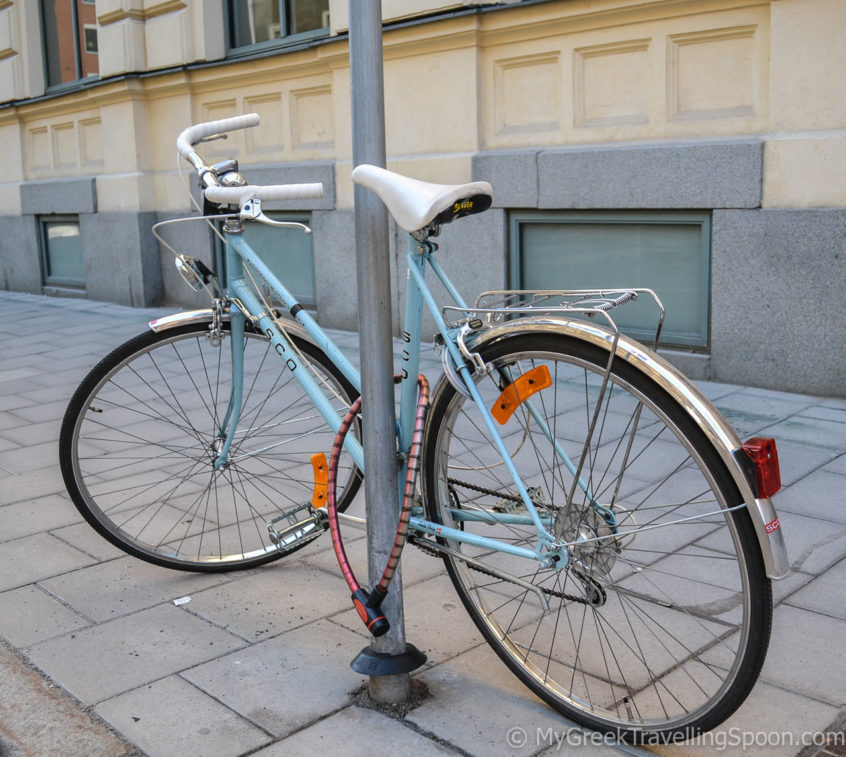 Stockholmers love their bikes!