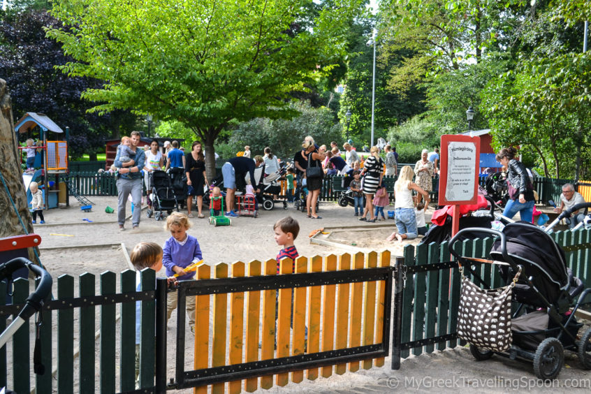 Playgrounds are a hotspot in Stockholm.