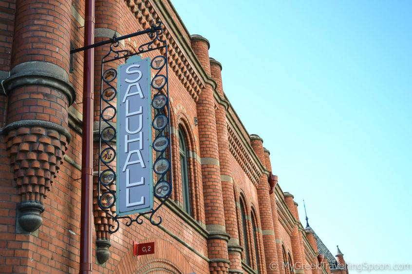 Saluhall - one of the most popular food markets.
