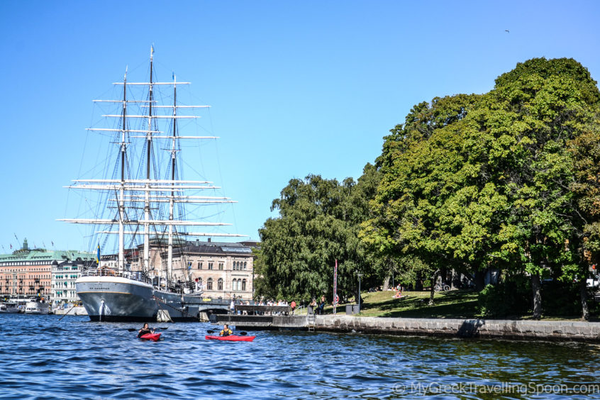 Stockholm is made up of numerous islands.