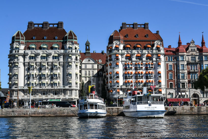 While in Stockholm, go on a boat tour.