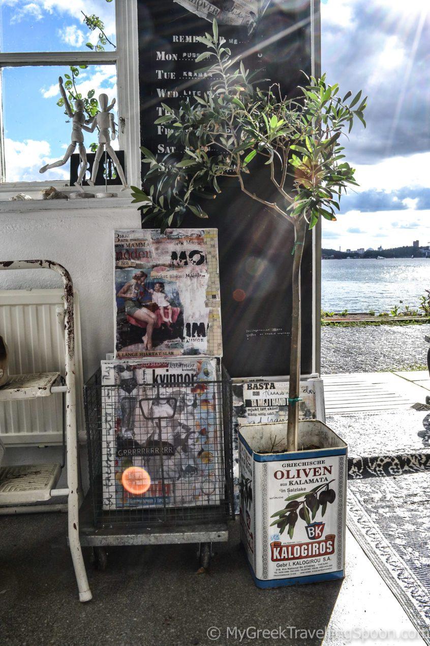 Fjäderholmarna islands - cool shops.