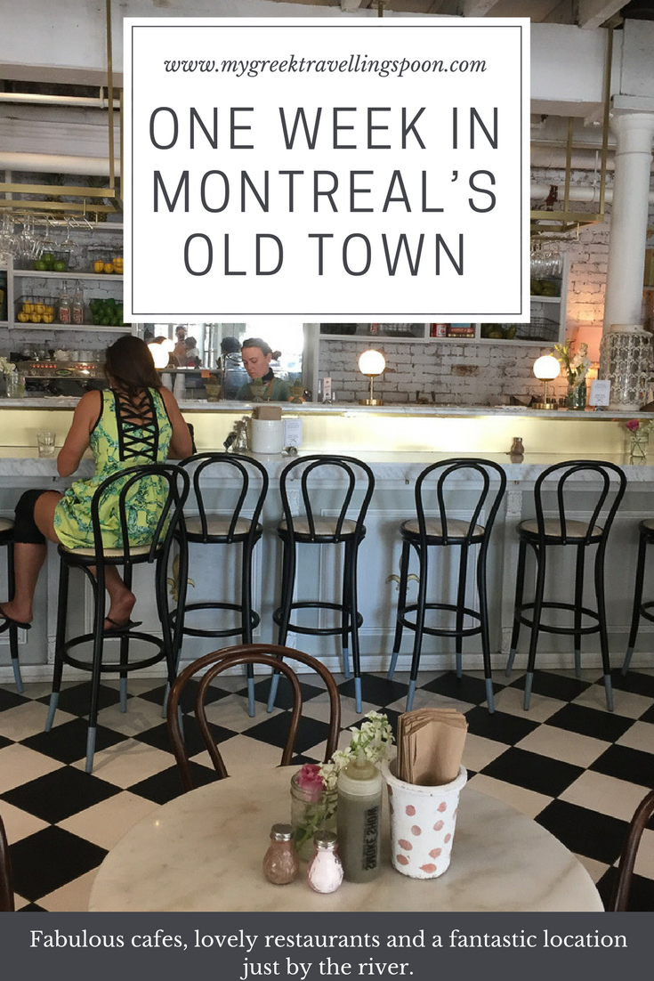One Week in Montreal's Old Town